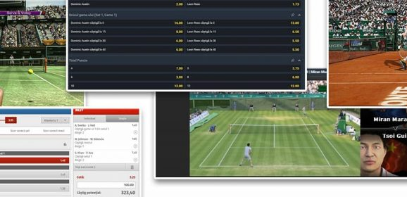 Bets on virtual tennis – between lottery and sport
