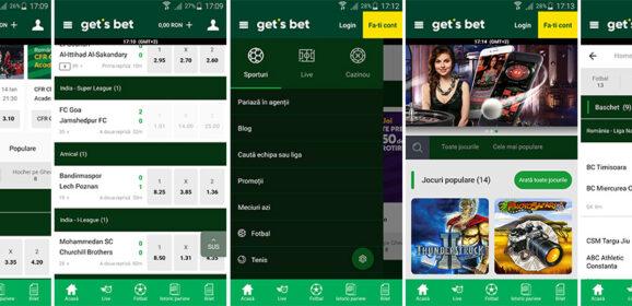 Get's Bet mobile app