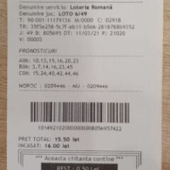 Am jucat la loterie la stațiile de plată Self Pay și este ușor și rapid