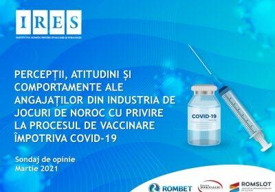(Română) Comunicat de presă: În momentul în care un vaccin anti COVID-19 va fi disponibil pentru dumneavoastră, vă veți vaccina? 45% din respondenți s-ar vaccina anti-Covid. 62% dintre aceștia s-ar vaccina dacă angajatorul le-ar recomanda imunizarea