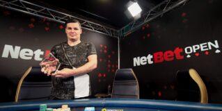 Marian Dicu câștigă NetBet Open!