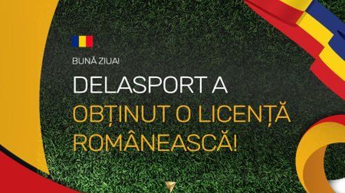 Delasport intră pe piața din România, lărgindu-și aria de acoperire prin intermediul unei licențe de clasa a 2-a