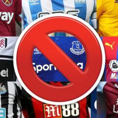 Guvernul Britanic ar putea interzice firmelor străine de pariuri sportive să se promoveze pe echipamentul de fotbal din Marea Britanie