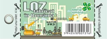 """LOZ """"FABRICAT ÎN ROMANIA"""" o nouă ediție de loz randalinat lansată de Loteria Română"""