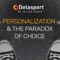 (English) Personalization and The Paradox of Choice
